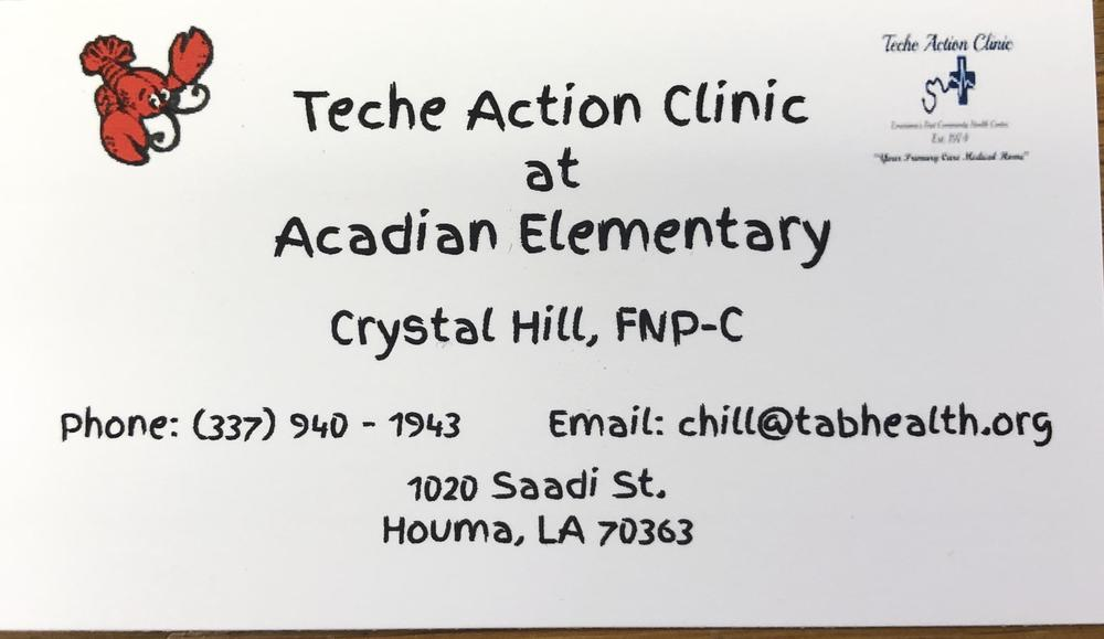 Teche Action Clinic